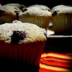 {Raspberry Yogurt Muffins} – Muffins cu iaurt si zmeura