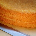 {How to cut your sponge cake} – Cum sa taiati blatul de tort