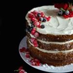 {Spiced Apple Gingerbread Cake} – Tort cu mere si condimente de turta dulce