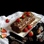 {Chocolate Mousse Cake Roll} – Rulada cu mousse de ciocolata