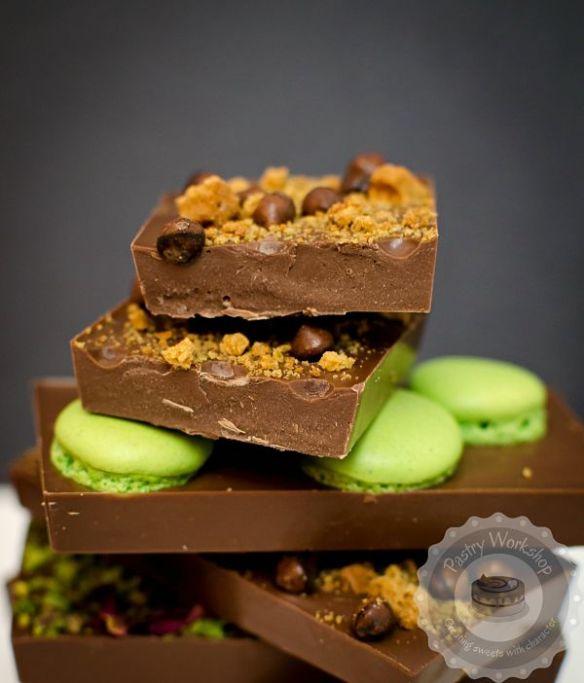 homemade chocolate tablets