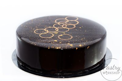 black mirror glaze