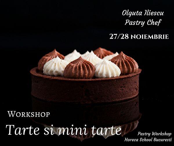 Tarte si mini tarte @ Horeca School