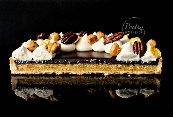 chocolate Amaretto tart