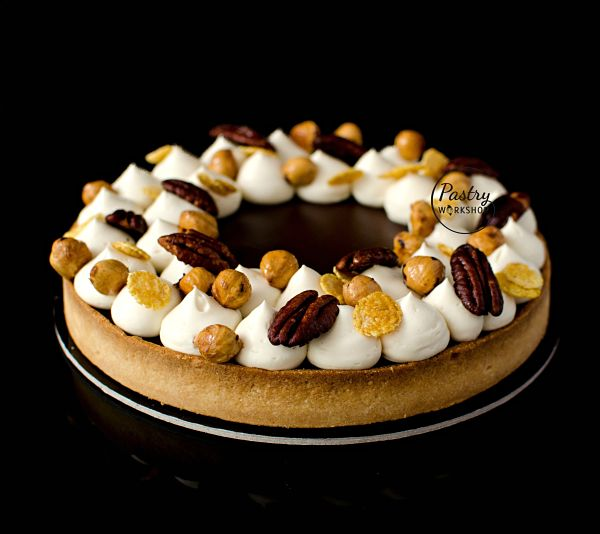 tarta cu ciocolata si Amaretto