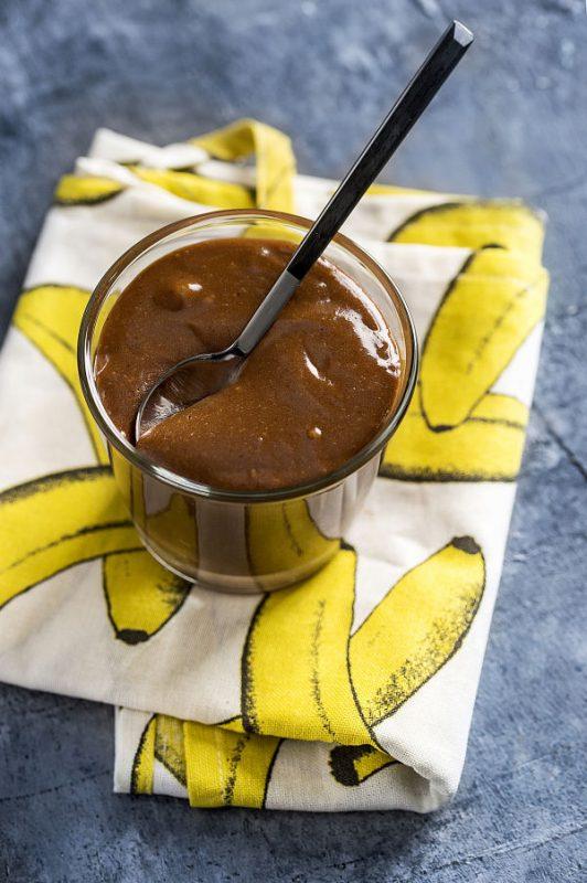hazelnut banana spread