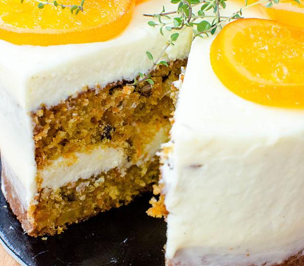 tort cu morcovi si ghimbir