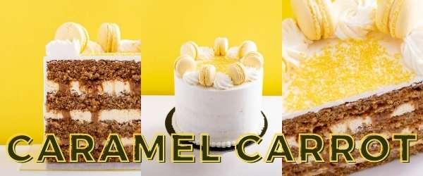 online pastry classes - caramel carrot cake