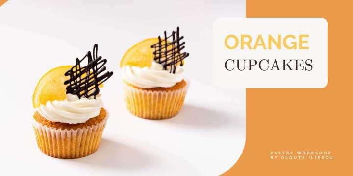 cupcakes cu portocala