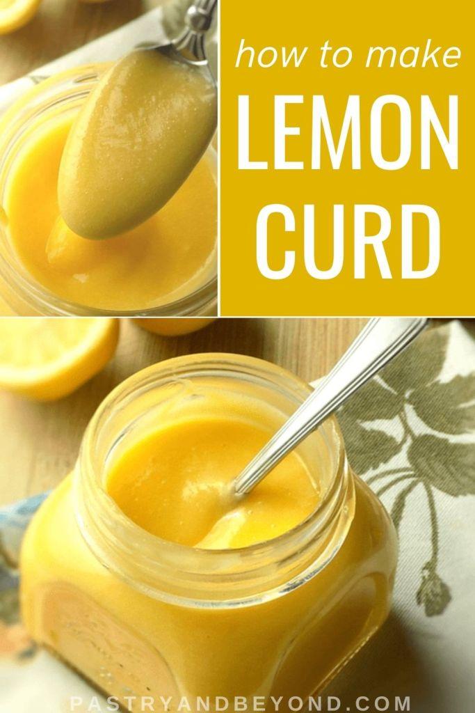 Pin for lemon curd
