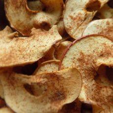 Dried Apples Crispy/Chewy vs. Crispy