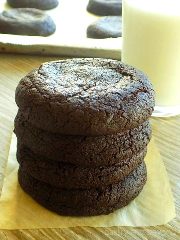Moist Chocolate Cookies