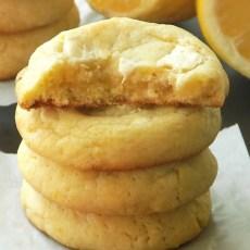 Lemon White Chocolate Cookies