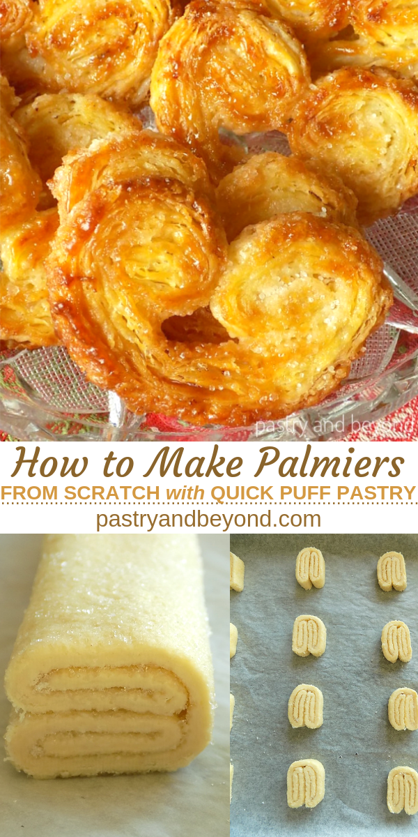 Palmier Pastry with Quick Puff Pastry