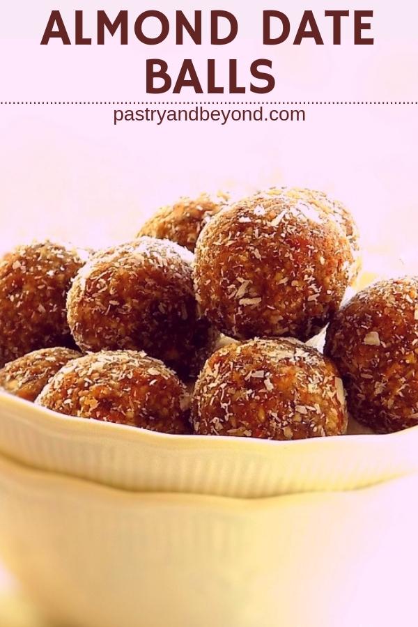 Almond Date Balls