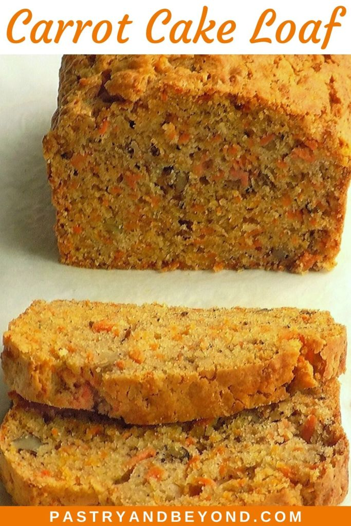 Pin of a Carrot Cake Loaf