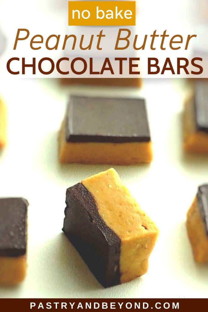 Peanut Butter Chocolate Bars pin