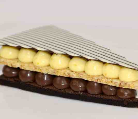 Triangle Mille Feuille Recipe by Camilla Tinoco