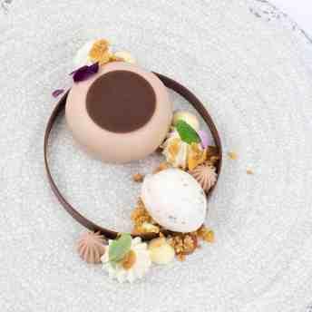 Jim Hutchison plated dessert