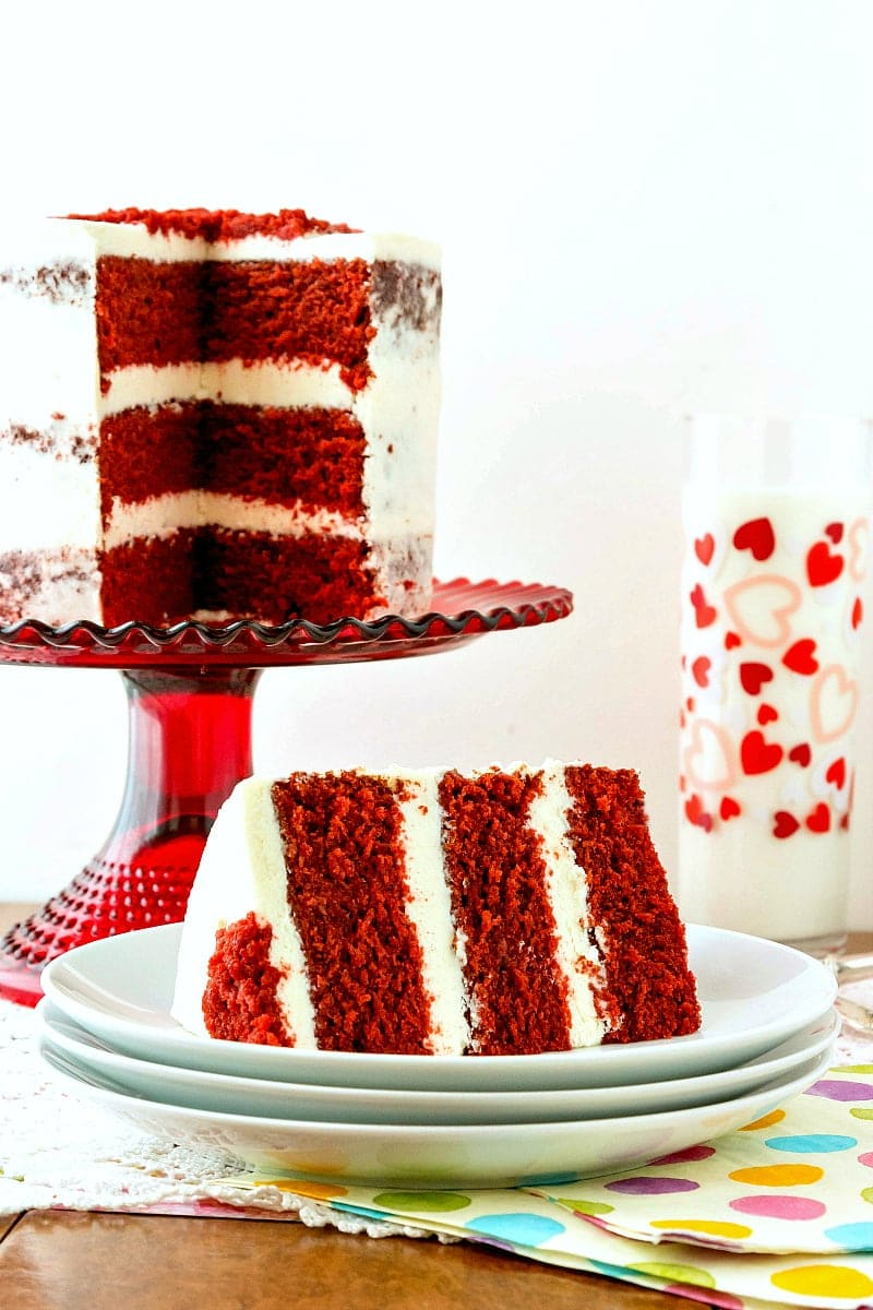 Traditional Red Velvet Cake