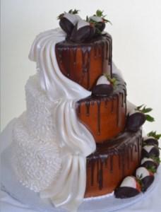 Pastry Palace Las Vegas - Wedding Cake 794 - Split Personality