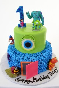 Pastry Palace Las Vegas - Kids Cake #1412 - Monsters U