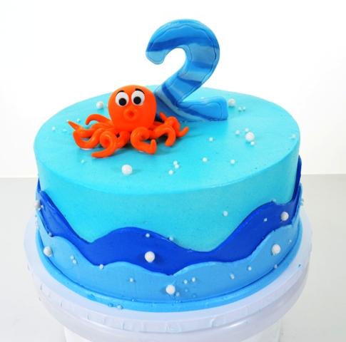 1603 - Orange Octopus