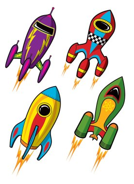 Launch Pad rockets