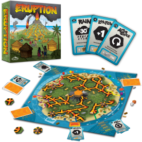 Eruption game setup