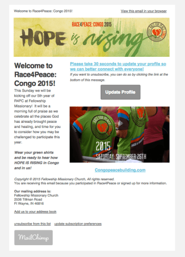 Race4Peace email template 2