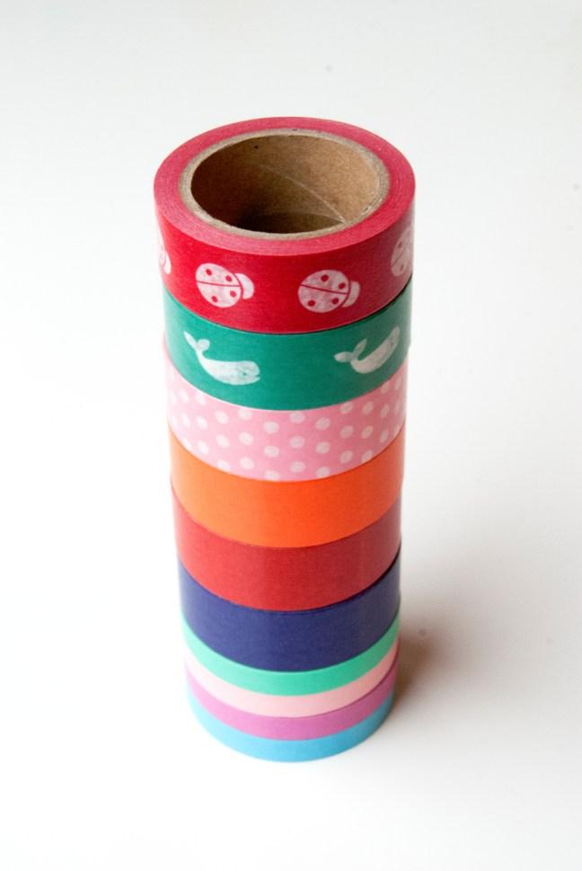 Pastylabel washi tape