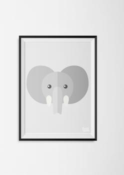 kinderkamerposters-olifant