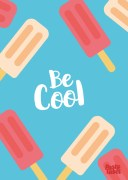 tekst-poster-kinderkamer-be-cool-icecream
