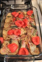 Röstkartoffeln mit Tomaten