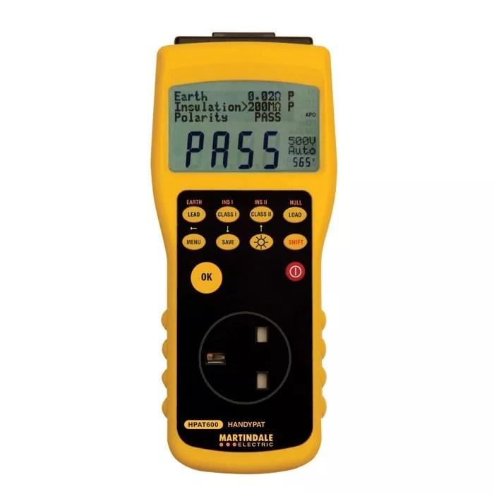 Martindale HandyPAT 600 PAT Tester