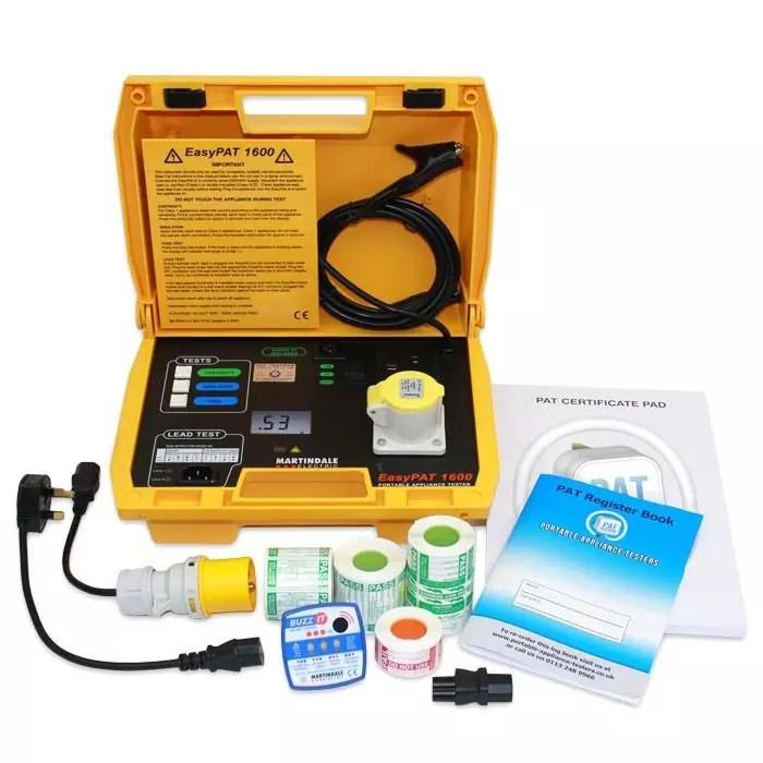 Martindale EasyPAT 1600 Kits (Choice of Kits)