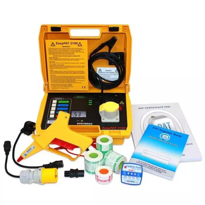 Martindale EasyPAT 2100 Kits (Choice of Kits)