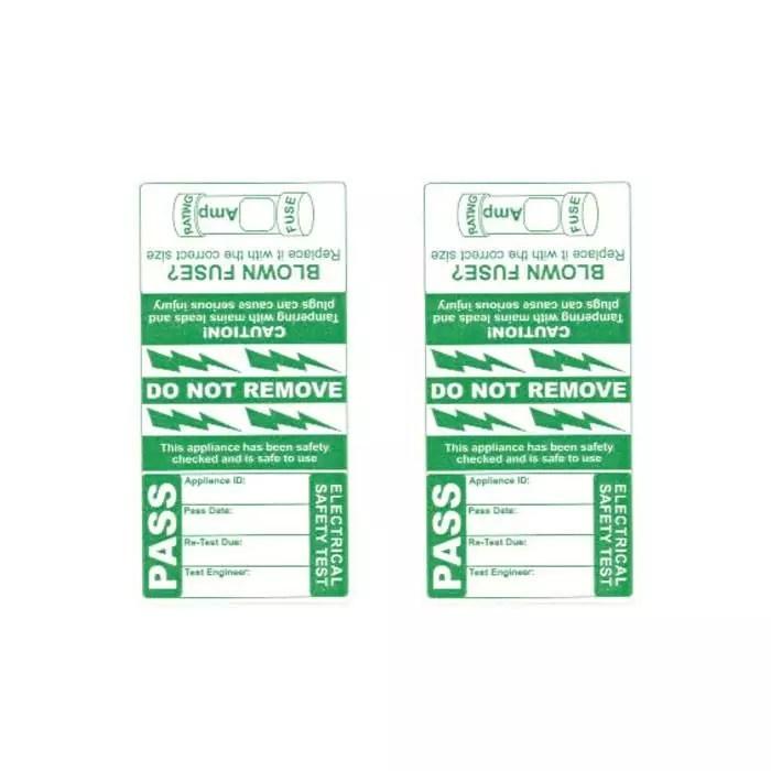 Pass Wrap Cable Labels (x250)