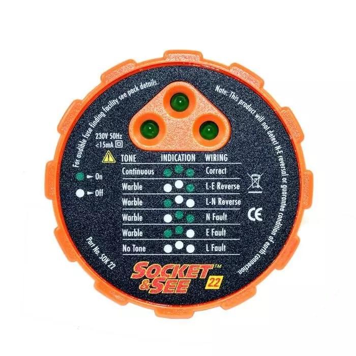 Socket & See SOK22 Socket Tester