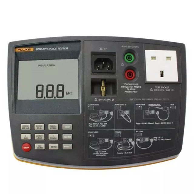 Fluke 6200 PAT Tester