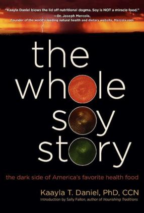 Se você se interessou pelo assunto e quer se aprofundar na questão dos malefícios da soja, recomendo fortemente a leitura deste livro, ainda sem tradução para o português