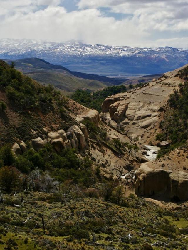 camino del monte zeballos perito moreno