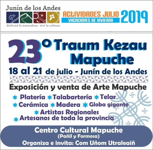 flyer evento mapuche junin invierno