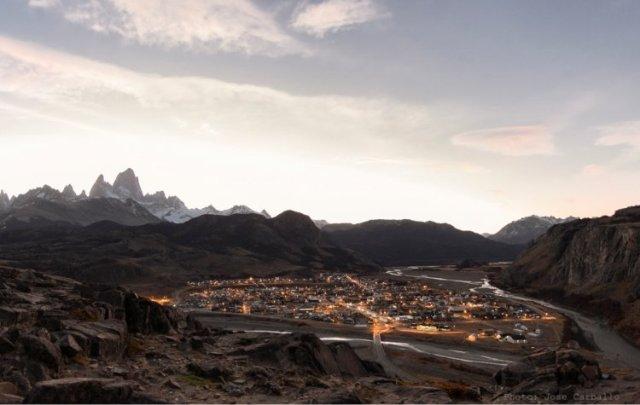 Vista desde el Mirador de los Cóndores en El Chaltén