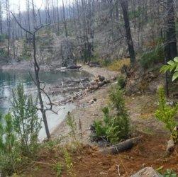 Lago Epuyén en la Reserva Provincial