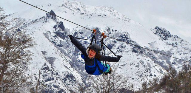Piedras Blancas, lugar de entretenimiento en invierno en Bariloche