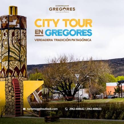 Flyer del City Tour en Goebrnador Gregores