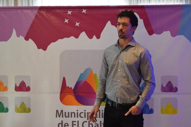 Francisco Cibrián, Secretario de Turismo de El Chaltén