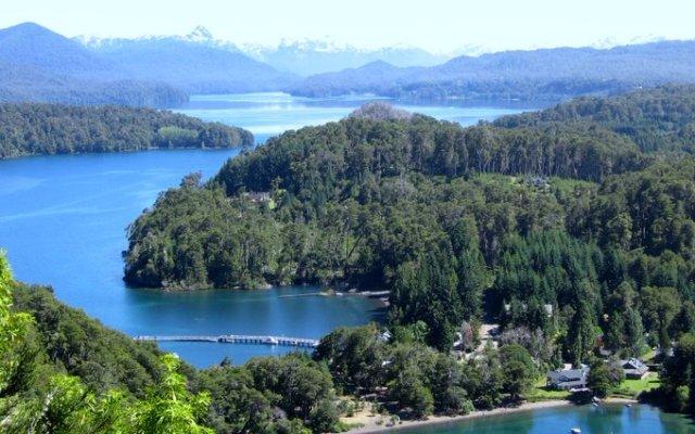 Lago Nahuel Huapi en Villa La Angostura