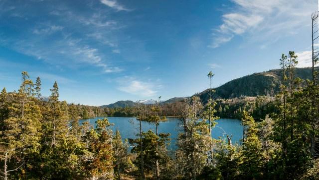 Una de las lagunas más bellas de El Hoyo, Los Alerces